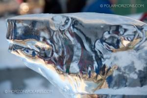 Danemark's Ice Polar Bear - Winterlude 2013
