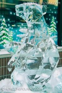 USA's Ice Polar Bear - Winterlude 2013