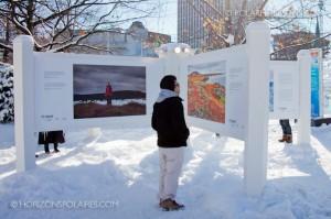 """L'exposition """"C'est l'Arctique canadien!"""""""