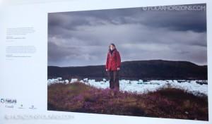 """Photo de Jennifer Doubt qui faisait partie de l'exposition """"C'est l'Arctique canadien!"""""""