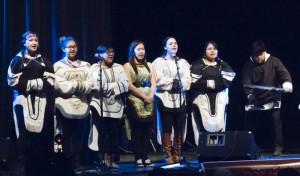 Performance by students from Nunavut Sivuniksavut.