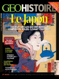 Cover of Géo Histoire #22 (August-Septembre 2015)
