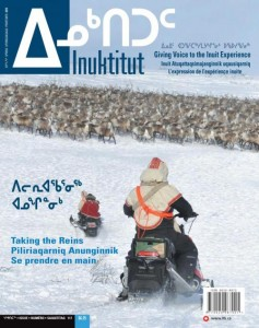 Cover page Inuktitut magazine Spring 2015
