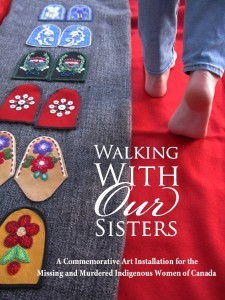 Walking with our sisters poster