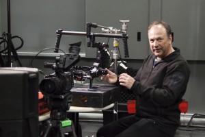 Cameraman Pierre-Frédérique Chénier