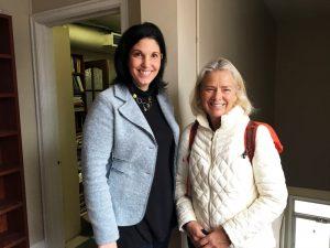 Rozanne Enerson Junker and Patricia Latour