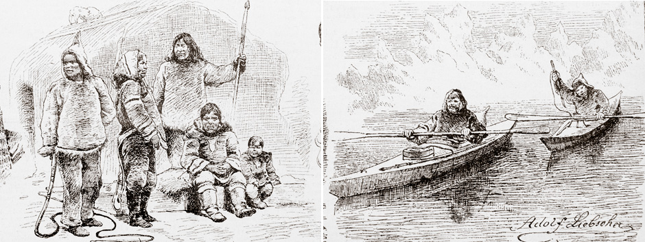 Abraham Ulrikab - illustrations from Svetozor newspaper, 1880